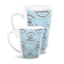 Lake House #2 Latte Mug (Personalized)