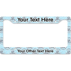 Lake House #2 License Plate Frame (Personalized)
