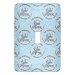 Lake House #2 Light Switch Covers (Personalized)