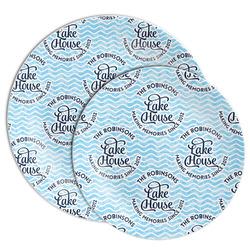 Lake House #2 Melamine Plate (Personalized)