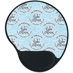 Lake House #2 Mouse Pad with Wrist Support