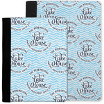 Lake House #2 Notebook Padfolio w/ Name All Over