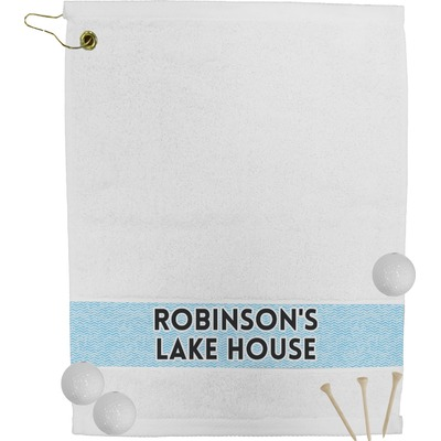 Lake House #2 Golf Bag Towel (Personalized)