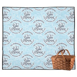 Lake House #2 Outdoor Picnic Blanket (Personalized)