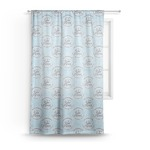 Lake House #2 Sheer Curtains (Personalized)