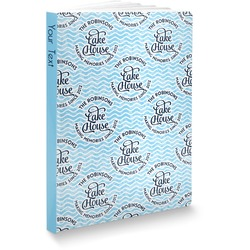 Lake House #2 Softbound Notebook (Personalized)