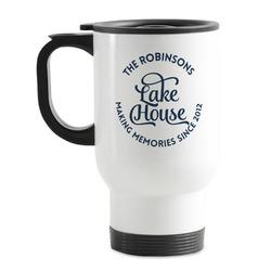 Lake House #2 Stainless Steel Travel Mug with Handle