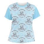 Lake House #2 Women's Crew T-Shirt (Personalized)