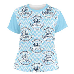 Lake House #2 Women's Crew T-Shirt (Personalized)