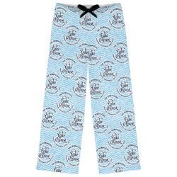 Lake House #2 Womens Pajama Pants (Personalized)
