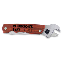 Lake House #2 Wrench Multi-Tool - Double Sided (Personalized)