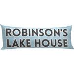 Lake House #2 Body Pillow Case (Personalized)