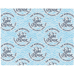 Lake House #2 Placemat (Fabric) (Personalized)