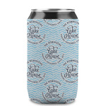 Lake House #2 Can Sleeve (12 oz) (Personalized)