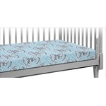 Lake House #2 Crib Fitted Sheet (Personalized)