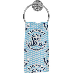 Lake House #2 Hand Towel - Full Print (Personalized)