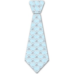 Lake House #2 Iron On Tie (Personalized)