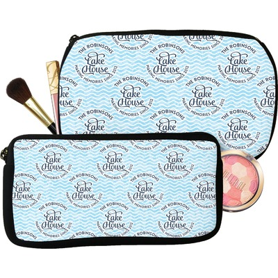 Lake House #2 Makeup / Cosmetic Bag (Personalized)
