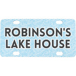 Lake House #2 Mini / Bicycle License Plate (Personalized)