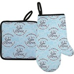 Lake House #2 Oven Mitt & Pot Holder (Personalized)