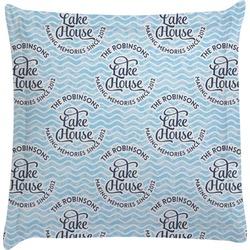 Lake House #2 Euro Sham Pillow Case (Personalized)