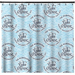 Lake House #2 Shower Curtain (Personalized)