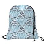 Lake House #2 Drawstring Backpack (Personalized)