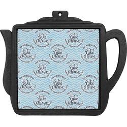 Lake House #2 Teapot Trivet (Personalized)