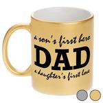 Father's Day Quotes & Sayings Metallic Mug