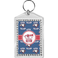 Dawson Band Bling Keychain (Personalized)