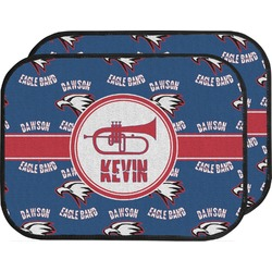Dawson Band Car Floor Mats (Back Seat) (Personalized)