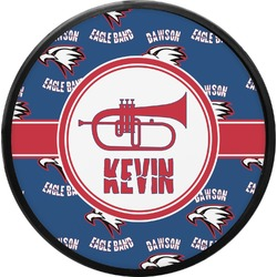 Dawson Band Round Trailer Hitch Cover (Personalized)