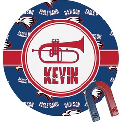 Dawson Band Round Magnet (Personalized)