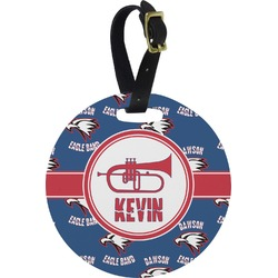 Dawson Band Round Luggage Tag (Personalized)