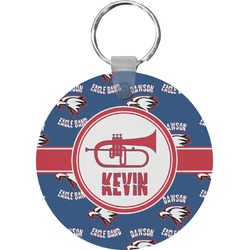 Dawson Band Round Keychain (Personalized)