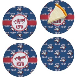 Dawson Band Set of Appetizer / Dessert Plates (Personalized)