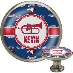 Dawson Band Cabinet Knob (Silver) (Personalized)