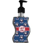Dawson Band Wave Bottle Soap / Lotion Dispenser (Personalized)