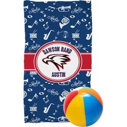 Musical Dawson Band Beach Towel (Personalized)