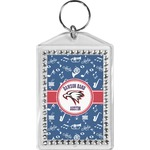 Musical Dawson Band Bling Keychain (Personalized)