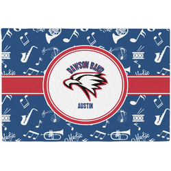 Musical Dawson Band Placemat (Fabric) (Personalized)