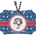 Musical Dawson Band Rear View Mirror Ornament (Personalized)