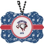 Musical Dawson Band Rear View Mirror Charm (Personalized)