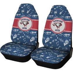 Musical Dawson Band Car Seat Covers (Set of Two) (Personalized)