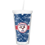 Musical Dawson Band Double Wall Tumbler with Straw (Personalized)