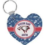 Musical Dawson Band Heart Keychain (Personalized)