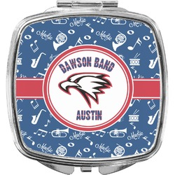 Musical Dawson Band Compact Makeup Mirror (Personalized)