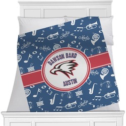 Musical Dawson Band Blanket (Personalized)