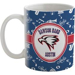Musical Dawson Band Coffee Mug (Personalized)