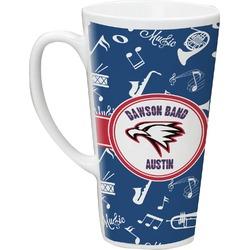 Musical Dawson Band Latte Mug (Personalized)